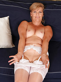 Mature Pictures Featuring 57 Year Old Lena F From AllOver30