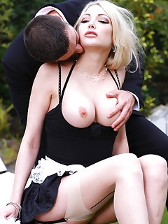 Blonde Maid Tamara Grace Gets Her Pussy Pounded