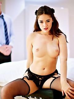 Big Ass Ava Dalush Drains Some Hot Sticky Cum