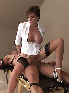 Lady Sonia - Lady Sonia strapped down and fucked hard