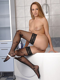 Hungarian Honey Shaves And Cleans Her Coochie free photos and videos on 1By-Day.com
