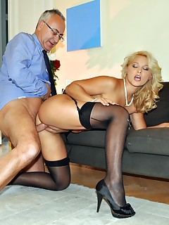 Jim Slip UK Porn video:Gustav pimps out his wife!