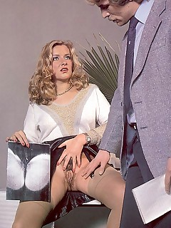 Rodox 70's secretary fucked by her boss