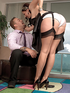Leg Sex - Siren In Seams - Gianna Rossi and Jarrod Steed (37 Photos)