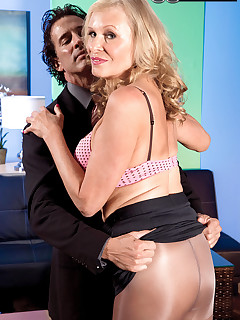 60 Plus MILFs - The Boss Has A Creampie For Bethany - Bethany James and Tony D'Sergio (52 Photos)