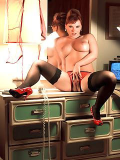 Leg Sex - Sex With A Stranger - Katja Kassin and Jarrod Steed (80 Photos)