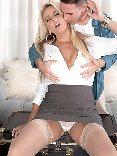 50 Plus MILFs - Madison Milstar presents Dallas Matthews in her XXX debut - Dallas Matthews and Brad Hart (42 Photos)