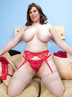 XL Girls - Bra Strap Buster - Adriana Avalon (74 Photos)
