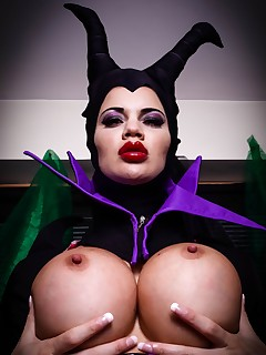 Mistress Of All Evil by Cosplaybabes.XXX