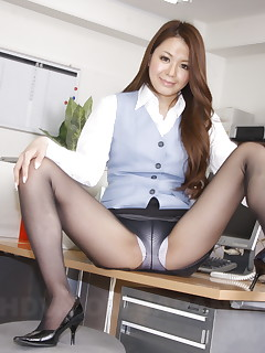 Sweet office darling China Mimura shows off | Japan HDV