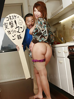 Arousing wife Miwa Nishiki gets fingered good | Japan HDV