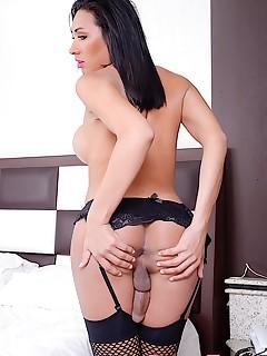 horny tranny cacau dipaula naked shemale photos silicon tits