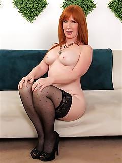 redhead milf freya fantasia naked woman photos mature woman