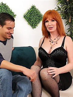 redhead milf freya fantasia hardcore sex photos mature woman